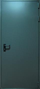 противопожарные двери синий цвет