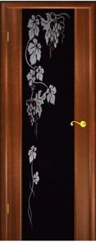 Шпонированные двери Гром Виноград