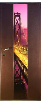 """Дверь с фотопанелью """"Нью Йорк"""""""