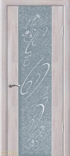 Люкс 1 с рисунком и стразами
