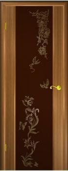 Шпонированные двери Гром Лето