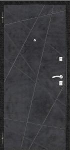 Стальная дверь Геометрия
