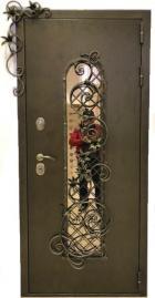 """Стальная дверь """"Кувшинка"""""""