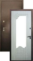 "Стальная дверь ""Ампир с зеркалом"""