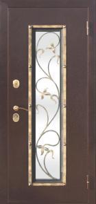 Стальная дверь Плющ